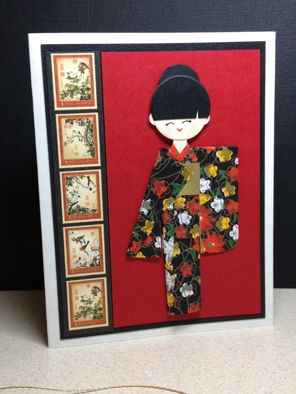 Little Paper Studio: Ningyogami cards