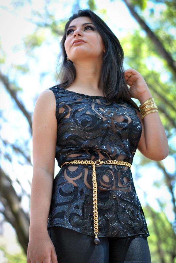 Bárbara Urias - look peplum