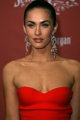 Megan Fox Gemstone Chandelier Earrings