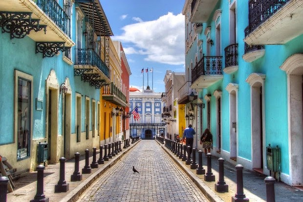 World's 10 most colorful cities - Old San Juan, Puerto Rico picture