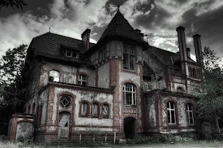 Real haunted house, haunted house, ghost house, a haunted house.