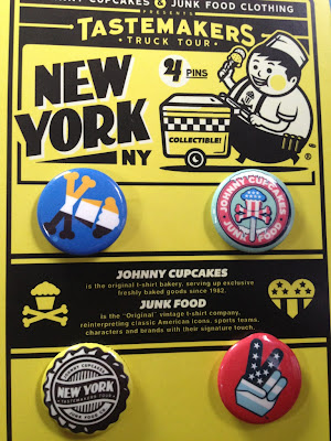 Johnny Cupcakes x Junk Food Tastemakers Ice Cream Truck Tour New York Exclusive Pin Pack