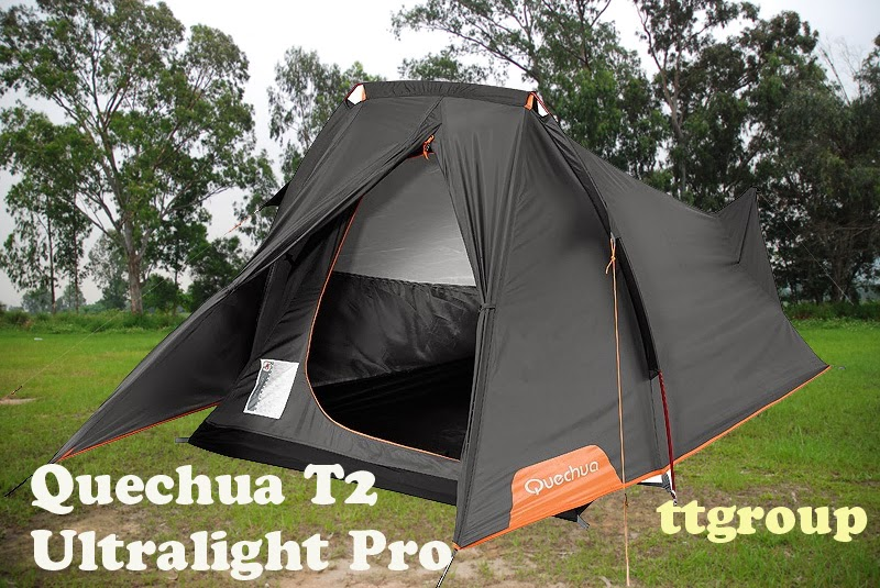 Quechua Zelt Ultralight Pro : Quechua waterproof backpacking camping tent t ultralight
