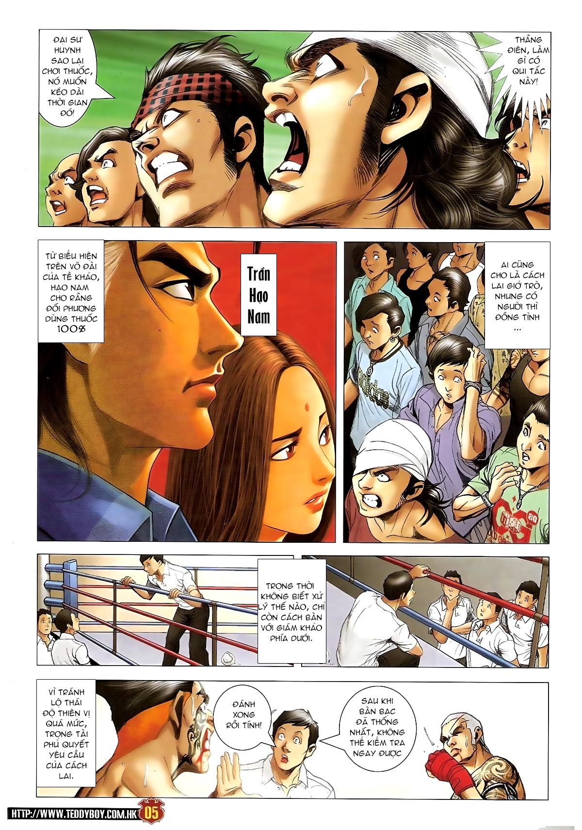 Người Trong Giang Hồ Chapter 1416 - Hamtruyen.vn