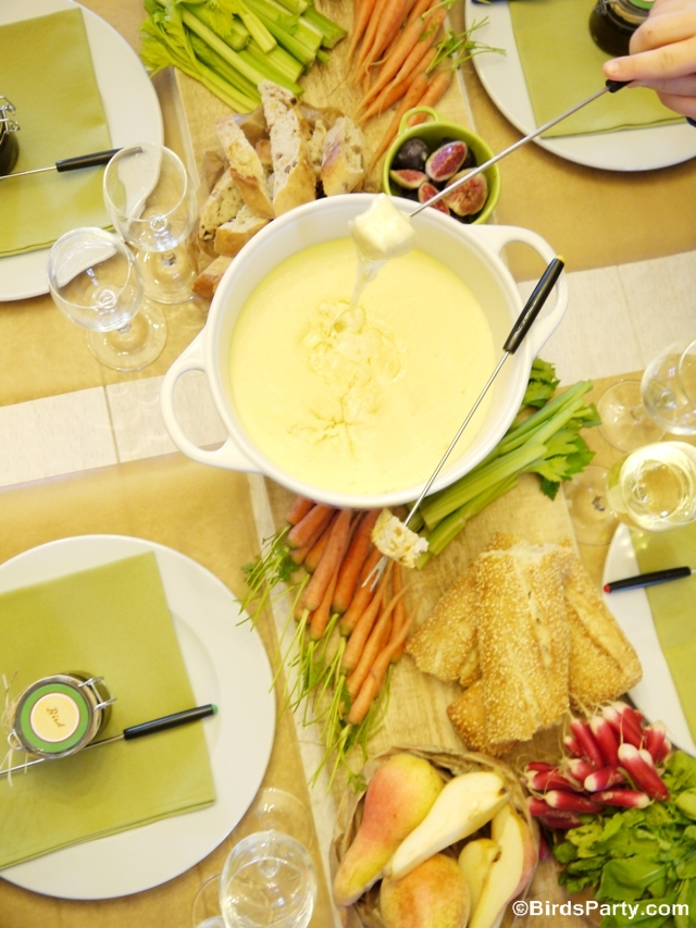 Cheese Fondue Party Ideas