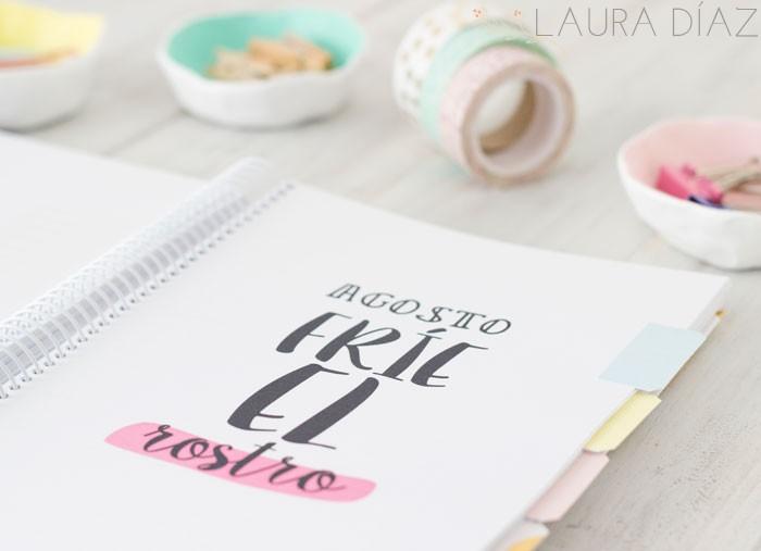 Creative mindly crear y dise ar una agenda bonita - Como decorar una agenda ...