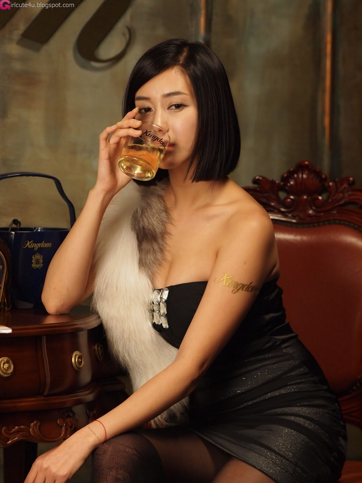 2 Kim Ha Yul for Kingdom Whisky-very cute asian girl-girlcute4u.blogspot.com