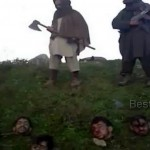 Tehreek-e-Taliban Pakistan Pose for Video with Heads of Decapitated