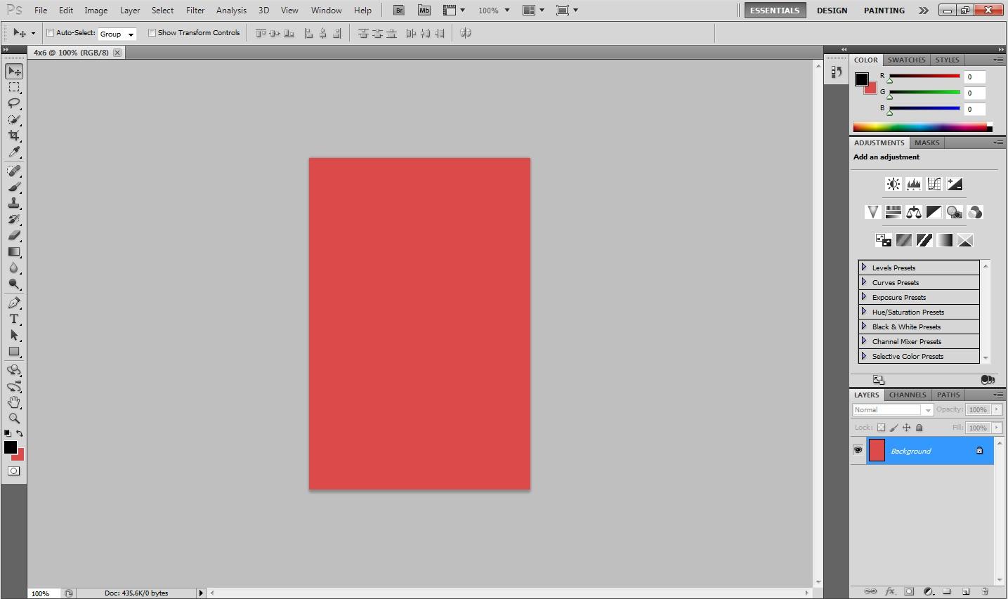 Cara merubah warna background pas foto dengan photoshop cs4 6