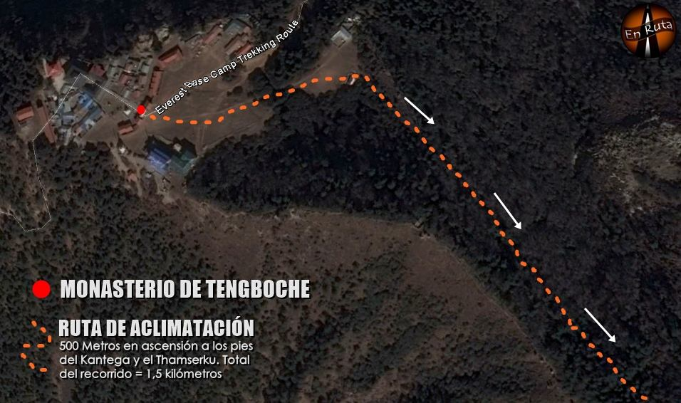 Mapa-Tengboche
