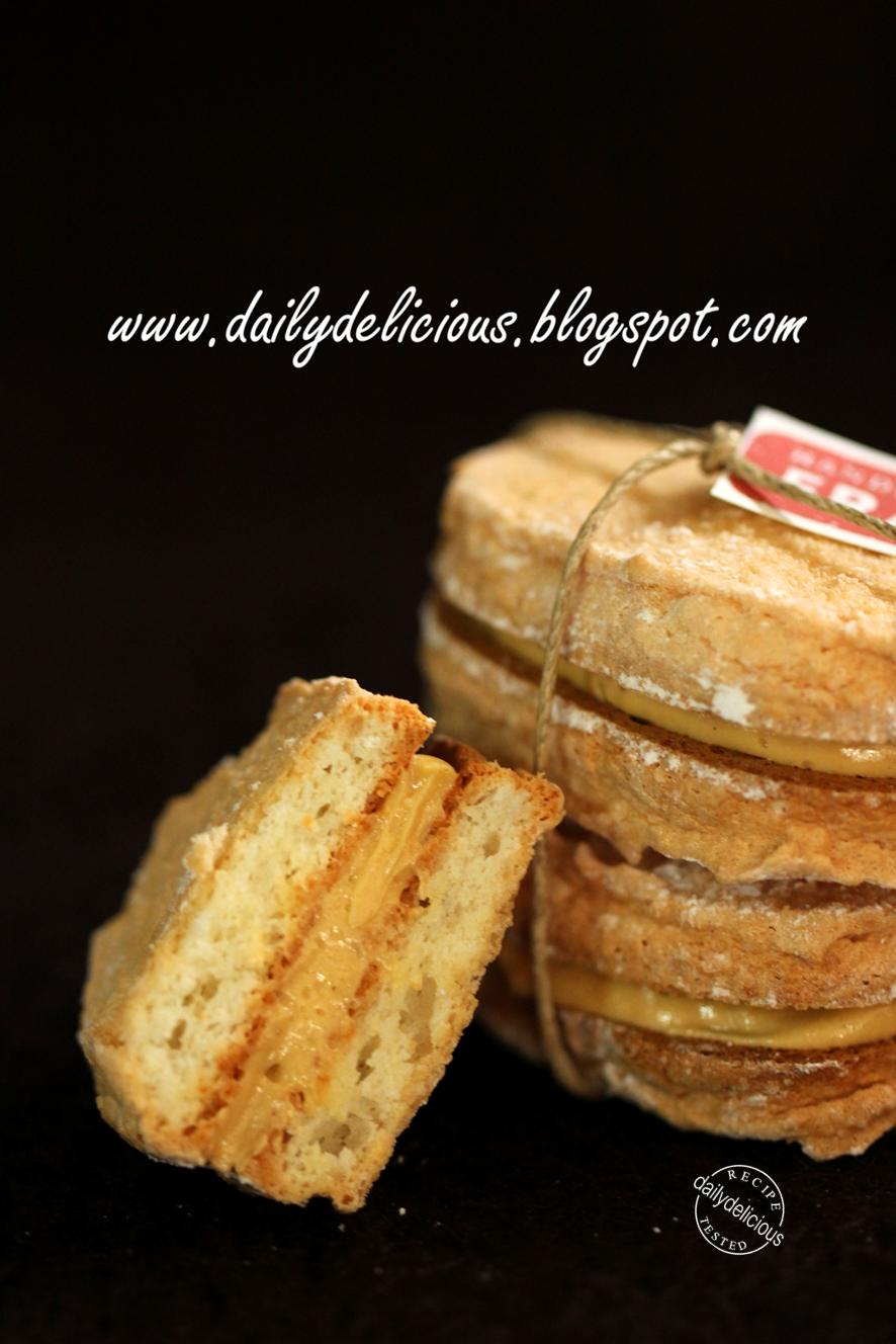 Dailydelicious Praline Dacquoise Easy Daily Bake
