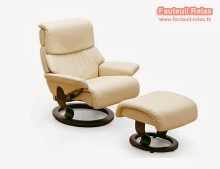 Fauteuil stressless et son pouf dream fauteuil relax - Fauteuil stress less ...