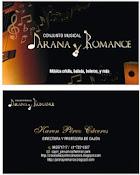 CONJUNTO MUSICAL ''JARANA Y ROMANCE''