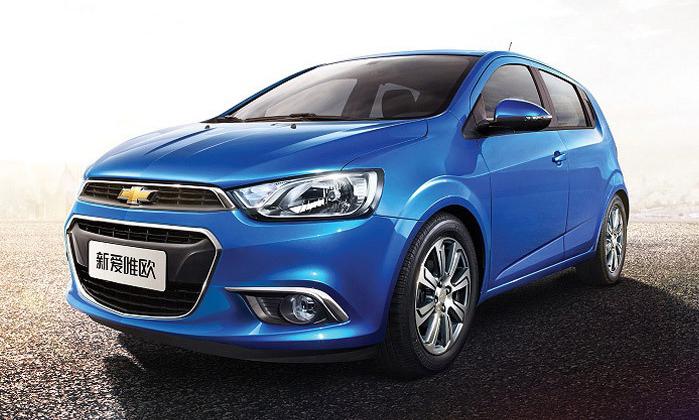Solo Para China Chevrolet Renueva A La Familia Del Aveosonic