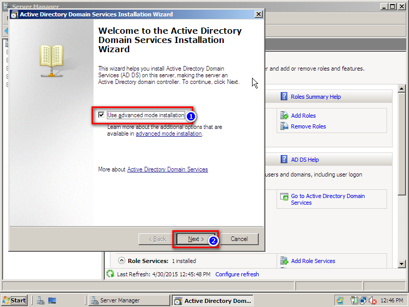 How to create active direcory and dns on windows server for Windows official website