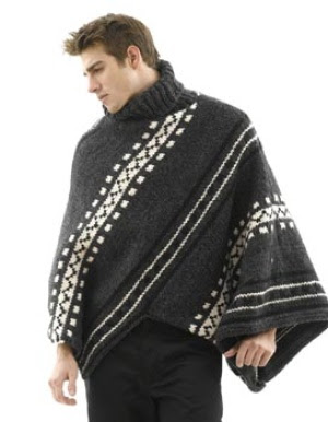 Ponchos For Men - Multi Star