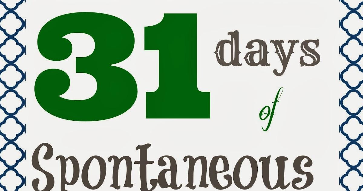 31 Days of Spontaneous Organizing - Day #9: Fridge Doors