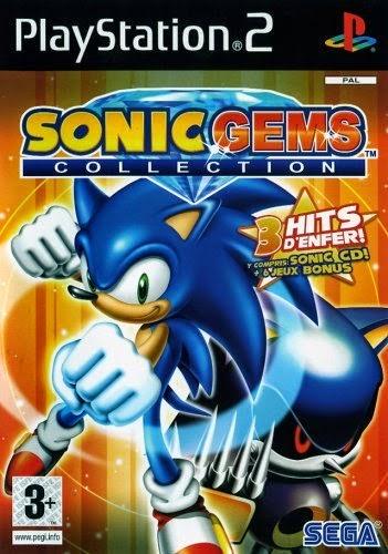Mundo Retrogaming Sonic Gems Collection Playstation 2