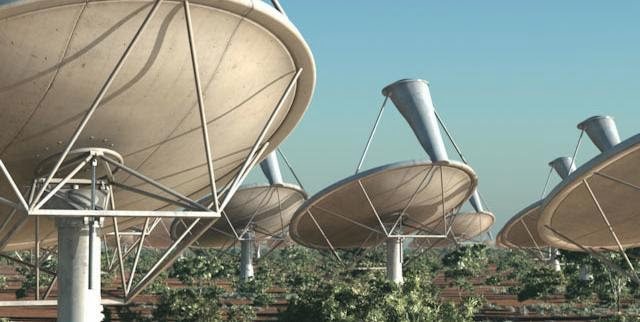 The Square Kilometre Array (SKA) radio telescope project is seen in his artists impression image made available by the Manchester based SKA Organisation, May 25, 2012. Credit: SKA Organisation/Swinburne Astronomy Productions