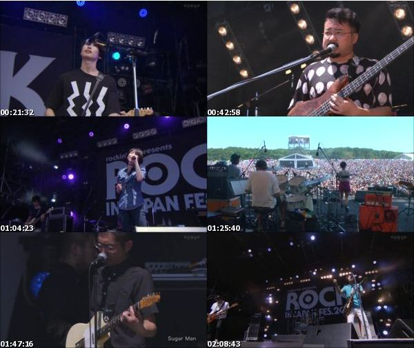 [TV-Variety] ROCK IN JAPAN FES. – 2016 総集編 DAY-2 前編 (WOWOW Live 2016.09.03)