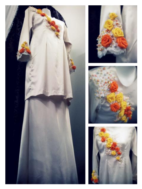 Freshlooks orange and yellow untuk bakal pengantin,)