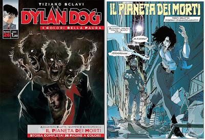 Dylan Dog - I colori della paura - Il pianeta dei morti