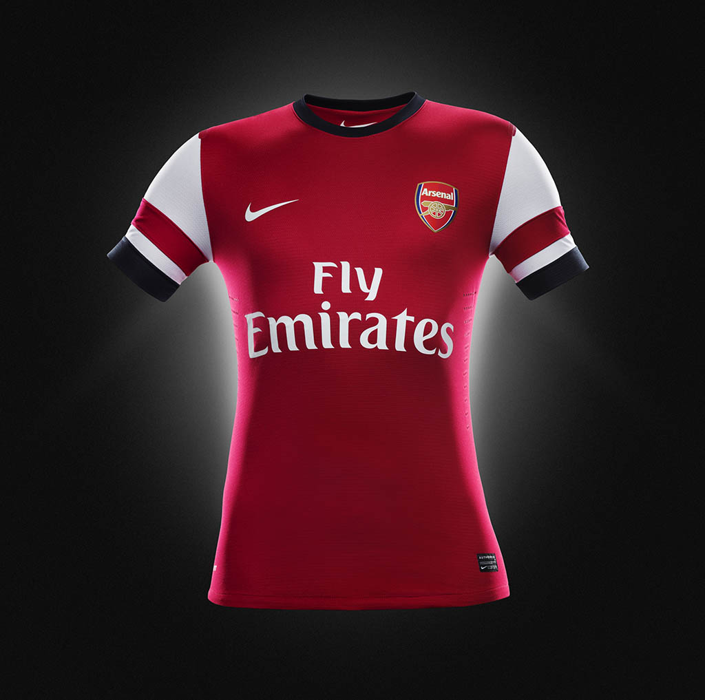 Arsenal Team Jersey 2013