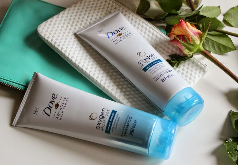 Dove Oxygen Moisture Hair Care Collection
