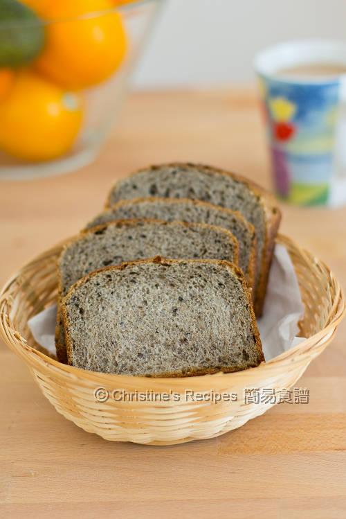 黑芝麻豆漿吐司 Black Sesame Soy Milk Toast01