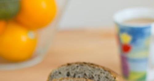 黑芝麻豆漿土司【湯種麵包】Black Sesame Soy Milk Toast