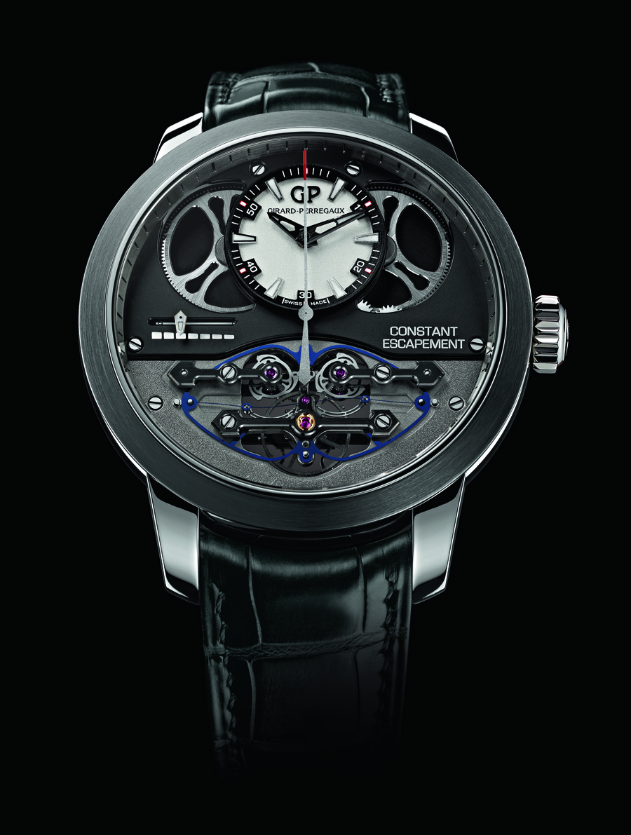 Girard perregaux constant escapement time and watches for Girard perregaux