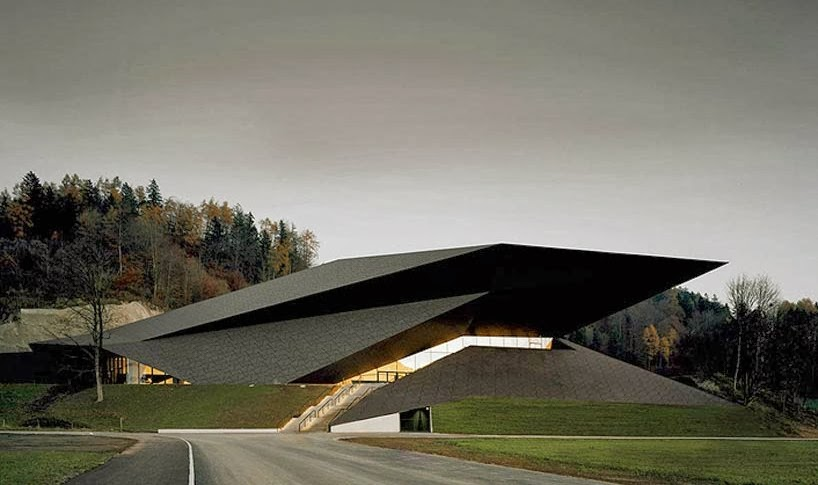 Design the new festival hall in erl austria for Festival hall in erl