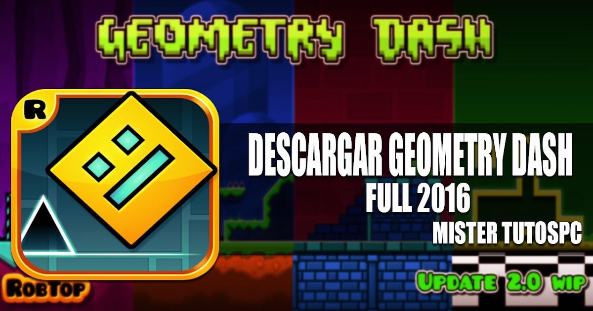 descargar geometry dash 2.0 para pc gratis