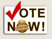 Vote for your favorite Leaside burger