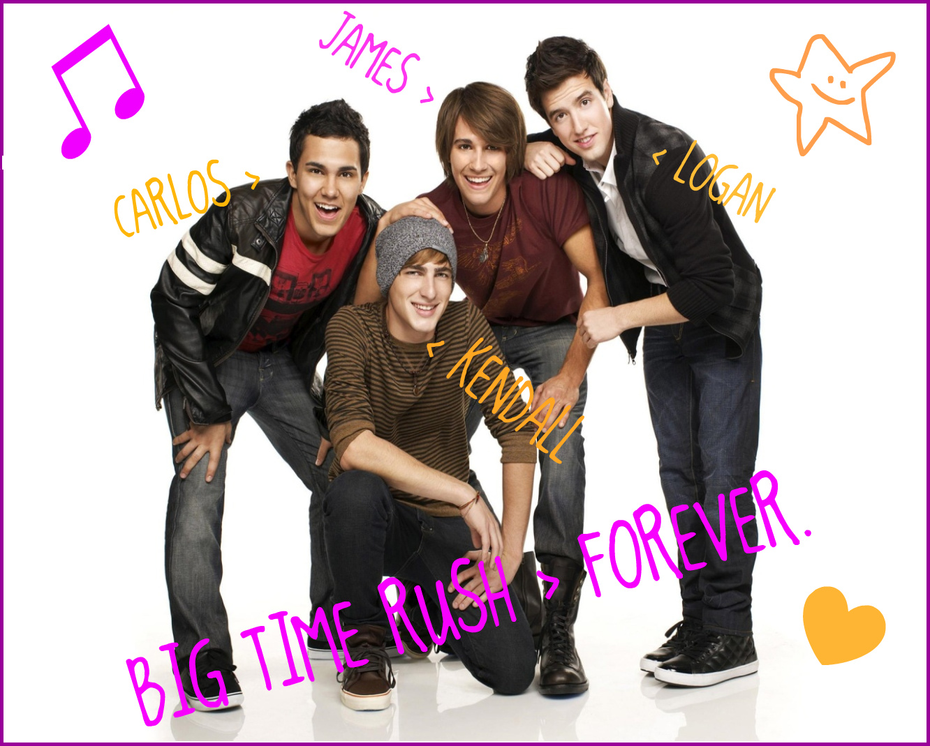 BIG TIME RUSH > FOREVER