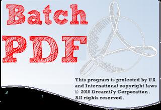 PDF watermark