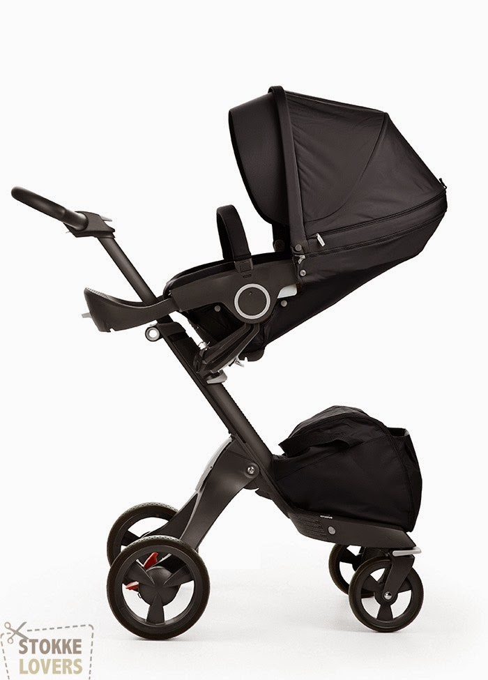 True Black Xplory stroller