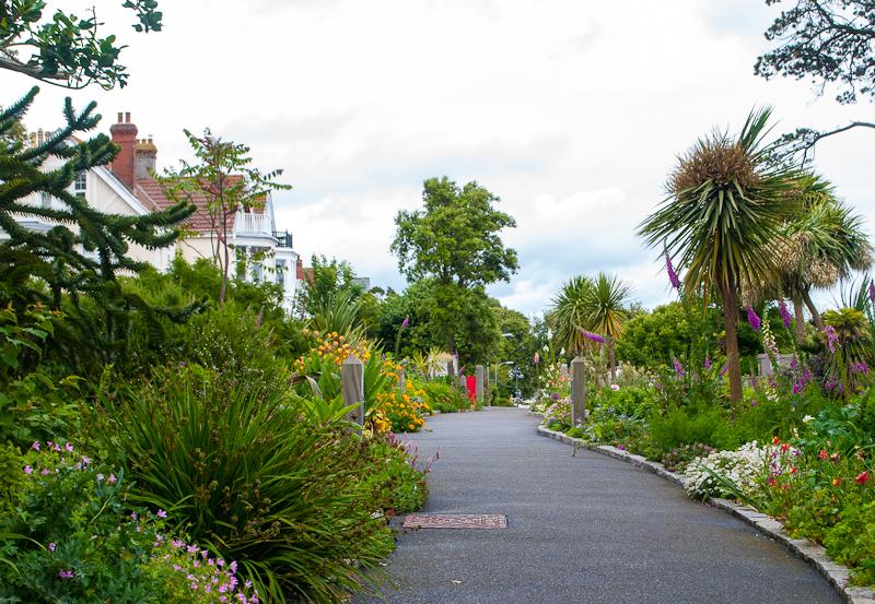 Gyllyngdune Gardens Falmouth, conrwall, England