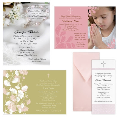 Storkie Communion Invitations for nice invitations sample