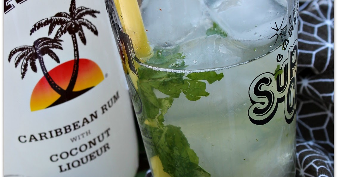 Coconut Rum Drink Puerto Rican