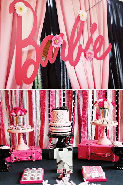 Fiesta para niñas Fiesta de la Barbie