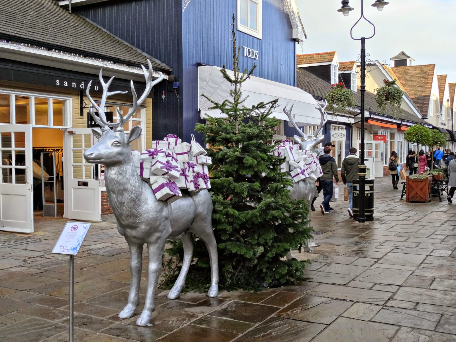 Bicester Village Christmas Time