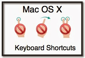 Mac OS X Keyboard Shortcuts