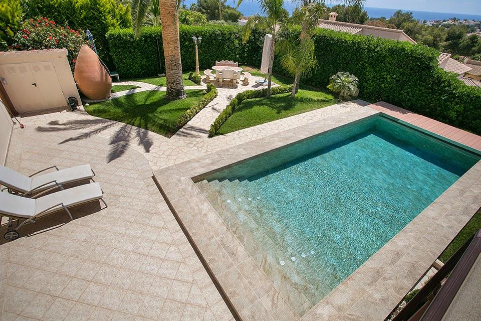 Terra antiqva porcelanico alta calidad para piscinas zaragoza azulejos zaragoza gres y - Piastrelle bordo piscina ...