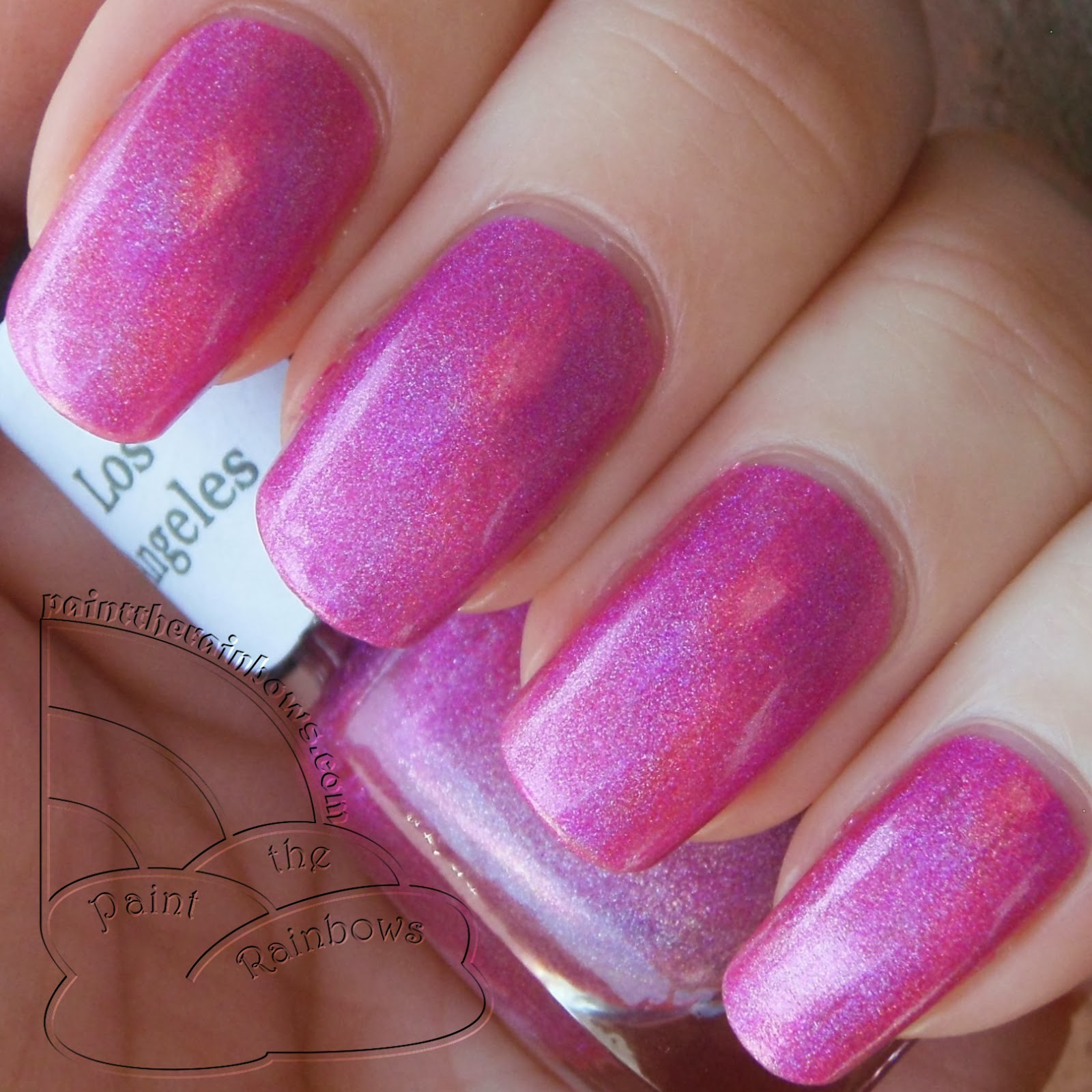Hot Pink Neon Holographic