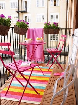 Için çizgili kilimlerden yararlanabilirsiniz bakınız veranda