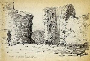 lámina dell castillo de Trasmoz