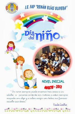 DÍA DEL NIÑO - AGOSTO 2013