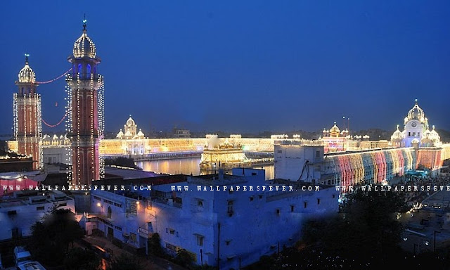 Diwali wallpapers of Harmandir sahib - Sikhism wallpapers