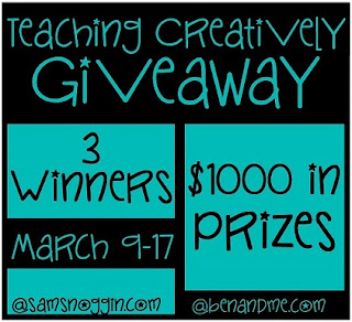 teaching creatively giveaway